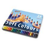 Farbstife Soft Colours 24 Stück