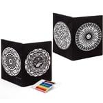 Velvet Art Mappen Mandalas 2 Stück