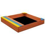 Sandkasten Holz 102x96x15cm