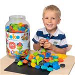 Kinder Kreativ Set Steckbausteine 200tlg.