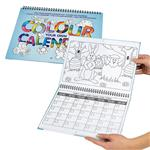 Kalender zum Ausmalen
