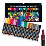Acryl Marker 24 Stk.