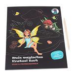 Mon livre à gratter magique Fées et princesses