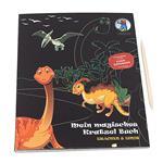 Mon livre à gratter magique Dragons et dinosaures