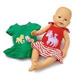 Kleidchen Lolly und Polly 2 Stk. BL