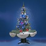 Weihnachtsbaum Schneezauber