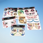 Face Art Stickers 12 Stk.