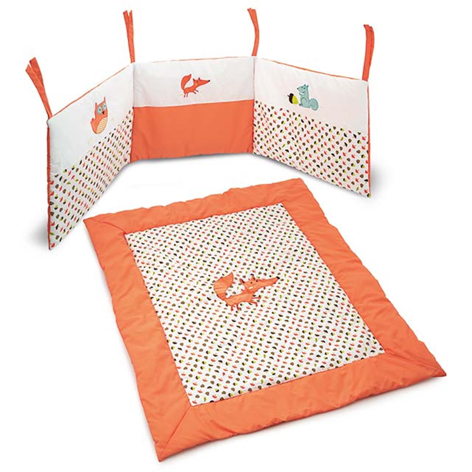 Decke und Nestchen Füchsli