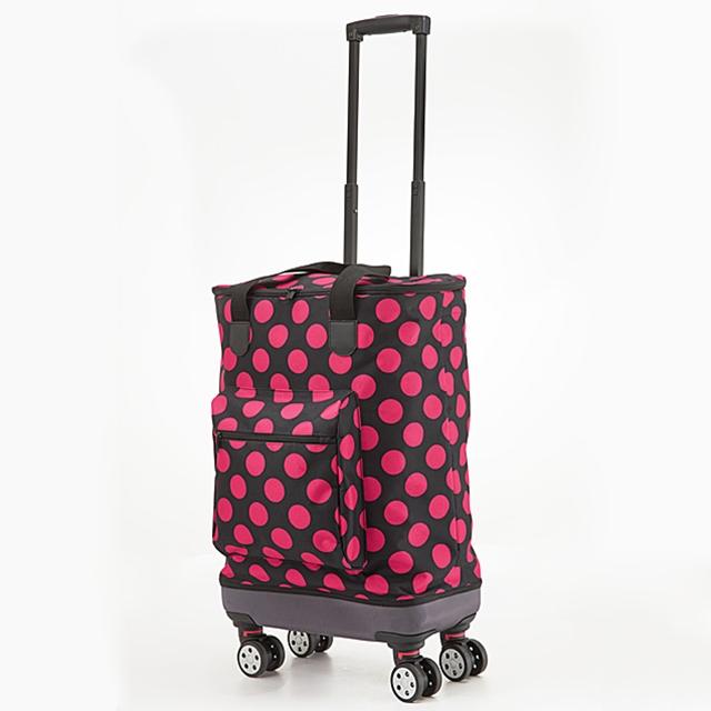 Einkaufstrolley Light Move Pink Dots