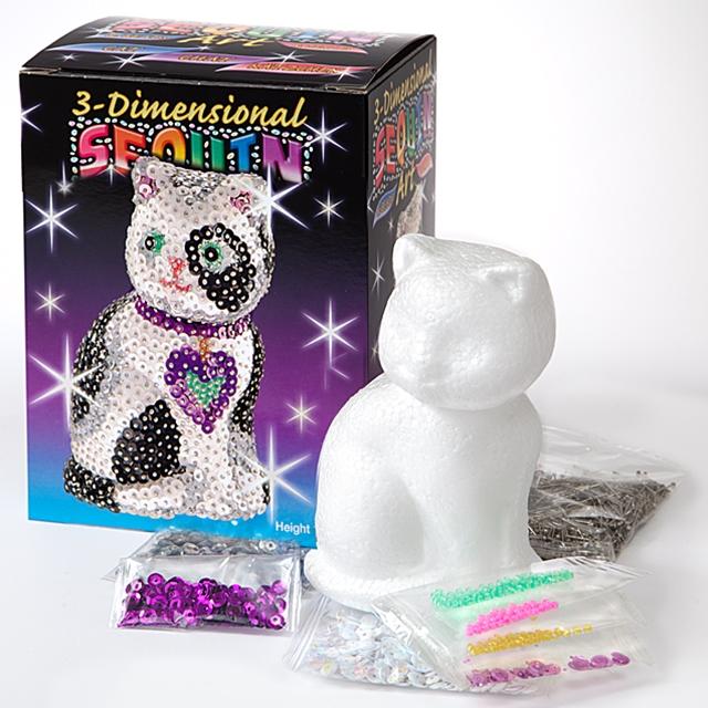 Sequin Art 3D Katze