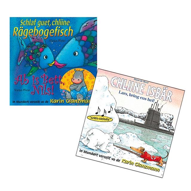 CD Märchen Set Kleiner Eisbär und Regenbogenfisch