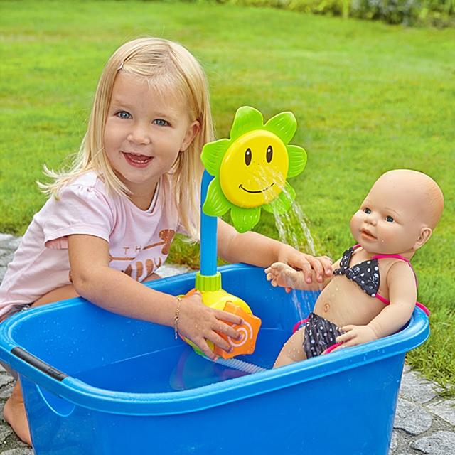 Badespielzeug Blumen Dusche