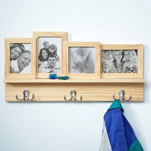Foto Garderobe Holz