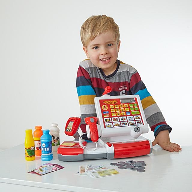 Spielkasse mit Scanner