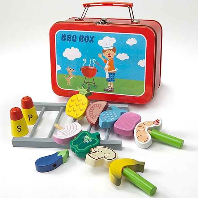 Spielkoffer Kindergrill 16tlg