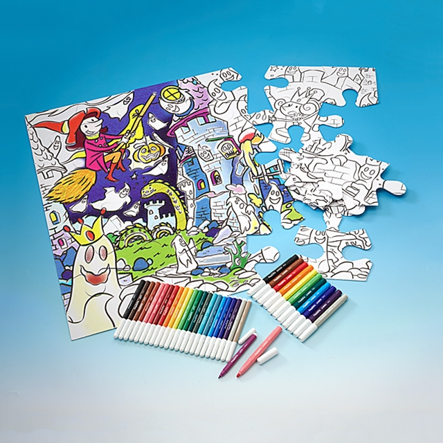 Maxi Puzzle XXL Monsters