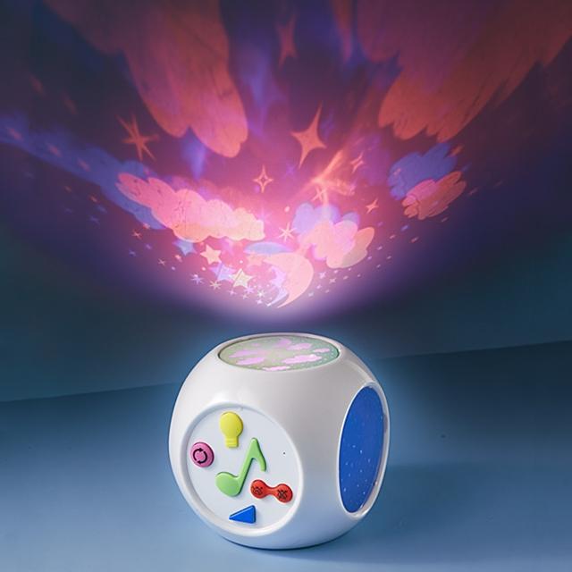 Nachtlicht Würfel mit Baby Cry Sensor