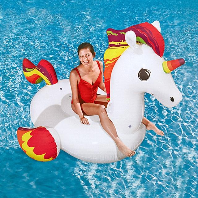 Schwimmendes Riesen Einhorn