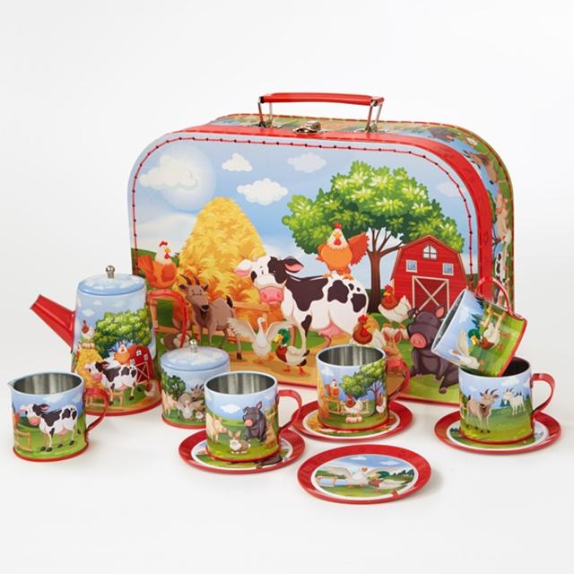 Spiel Teeset Bauernhof 13tlg.