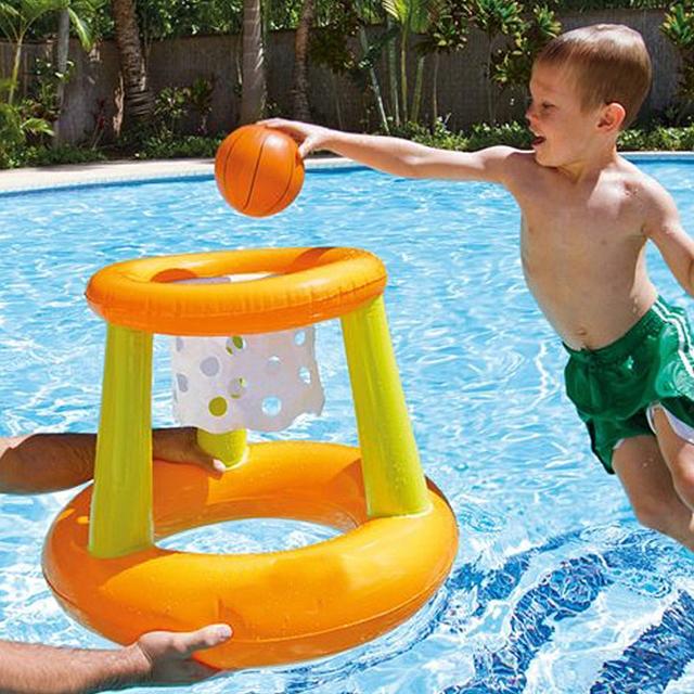 Schwimmender Basketballkorb