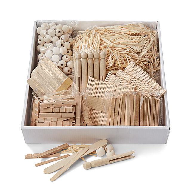 Holz Bastel Box 3'000 Teile