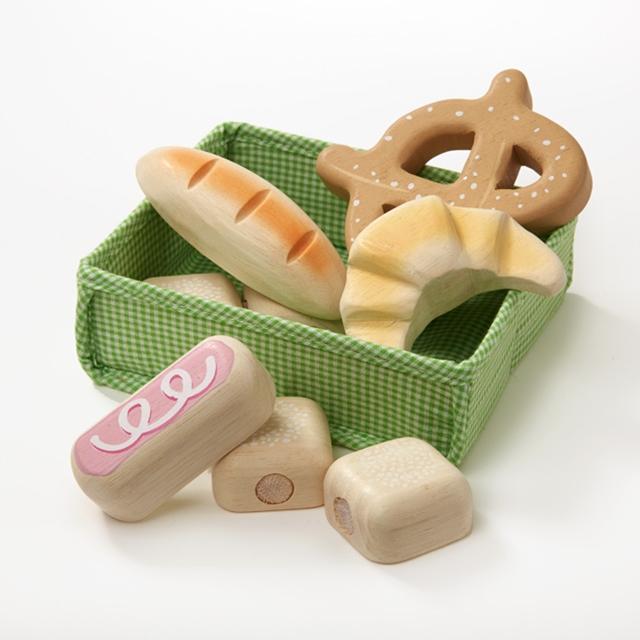 Holz Brotkorb 9tlg. Tender Leaf Toys