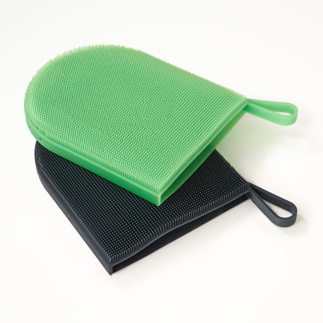 Silikonschwamm Spülhandschuh 2 Stück