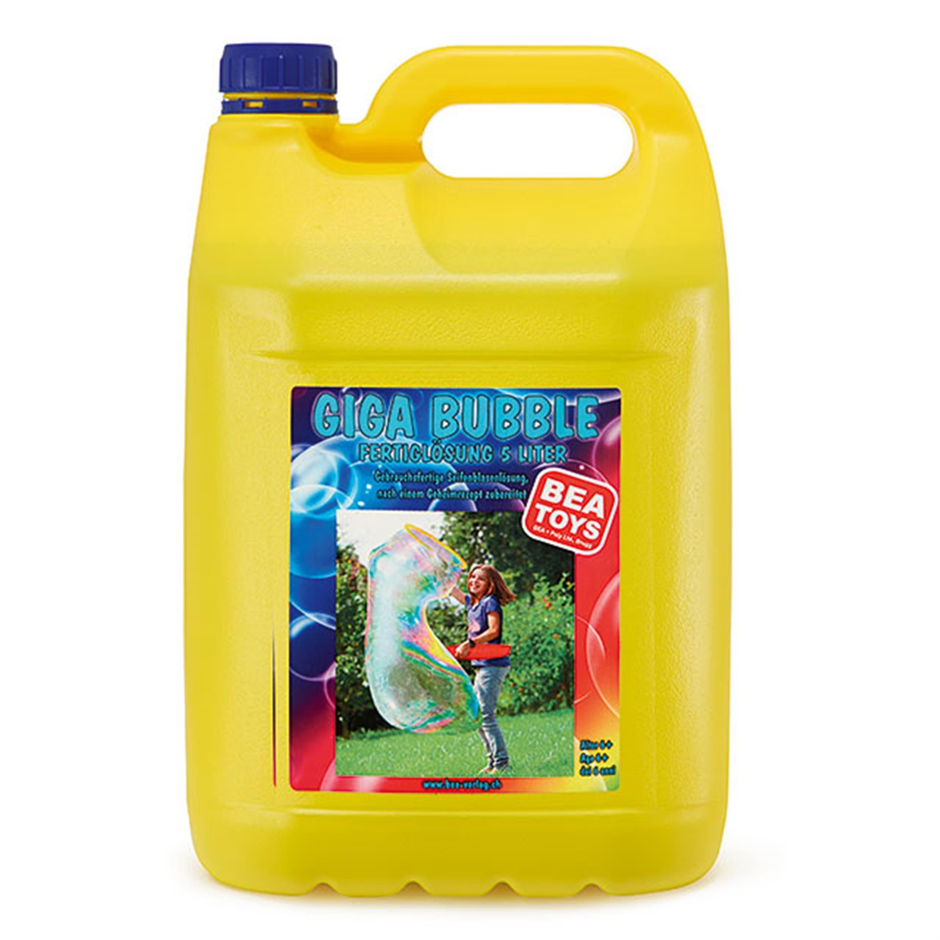 Seifenblasen Fertiglösung 5 L