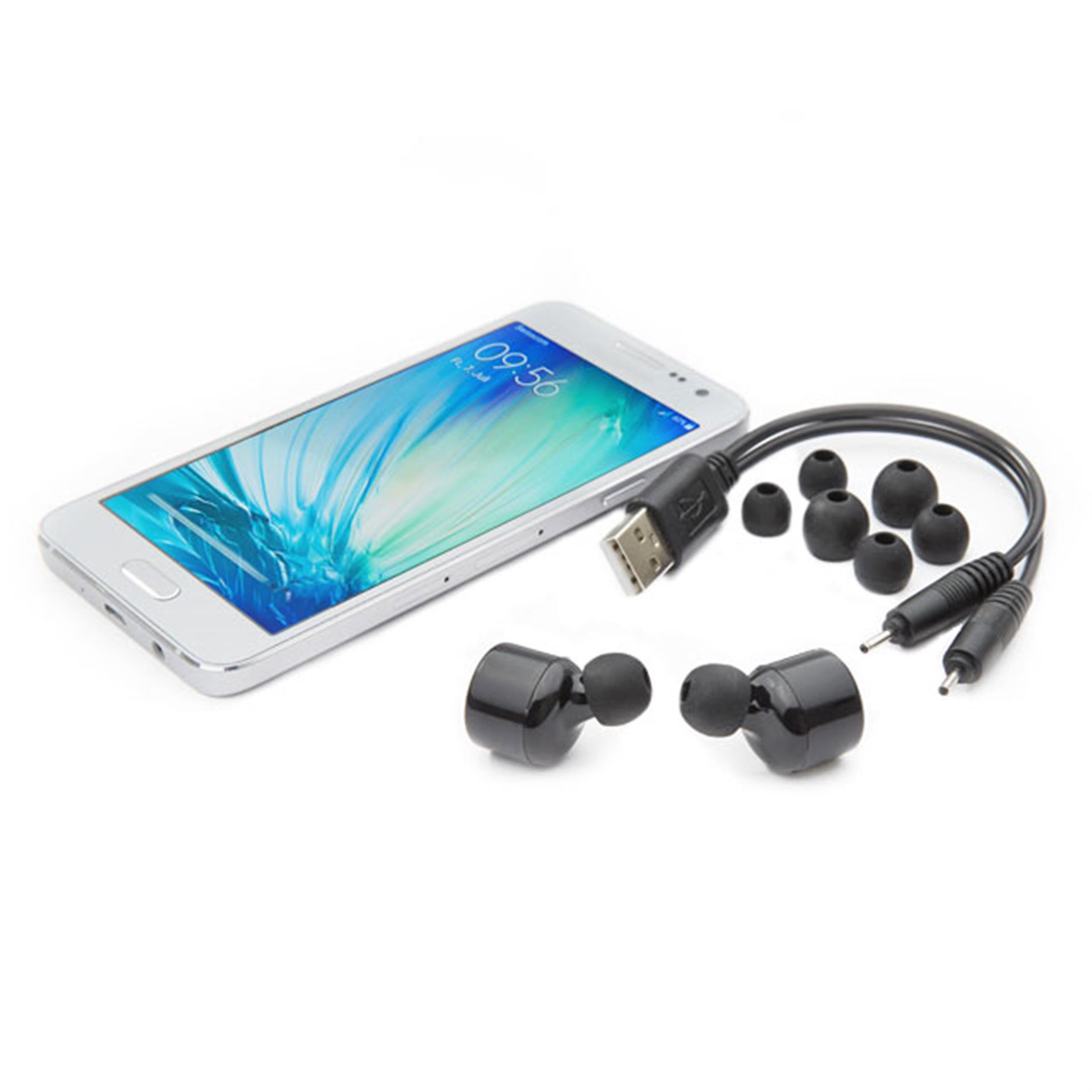 Knopf-Kopfhörer kabellos