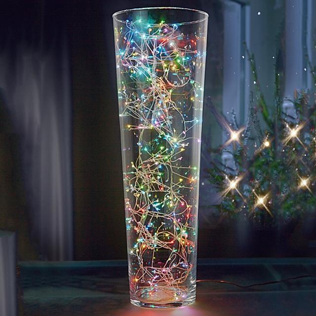 LED Lichterkette bunt 3 m