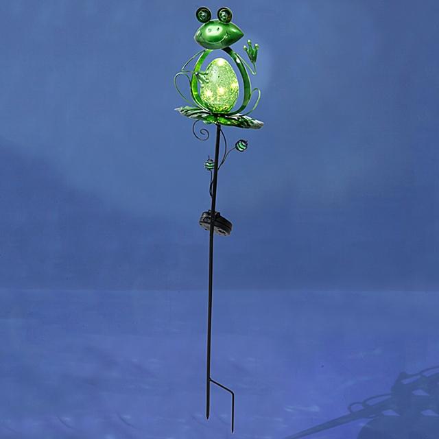 Solarlicht Stecker Frosch