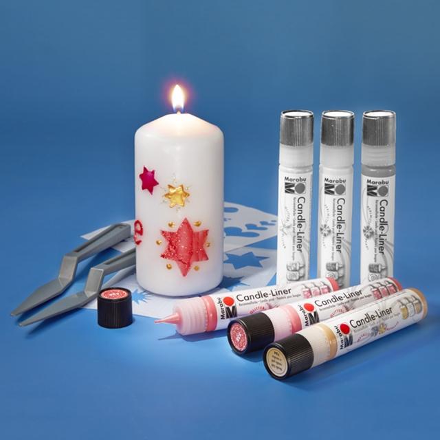 Marabu Candle-Liner Hearts
