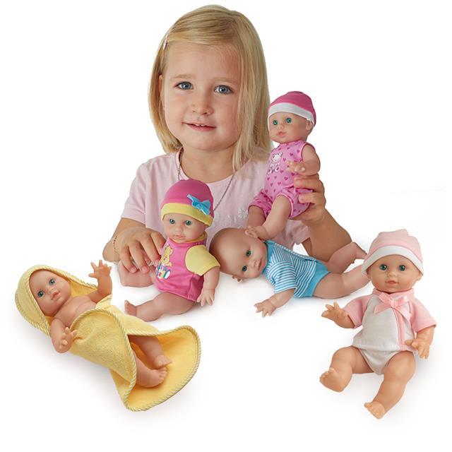 Puppen Little Babys 5 Stk.