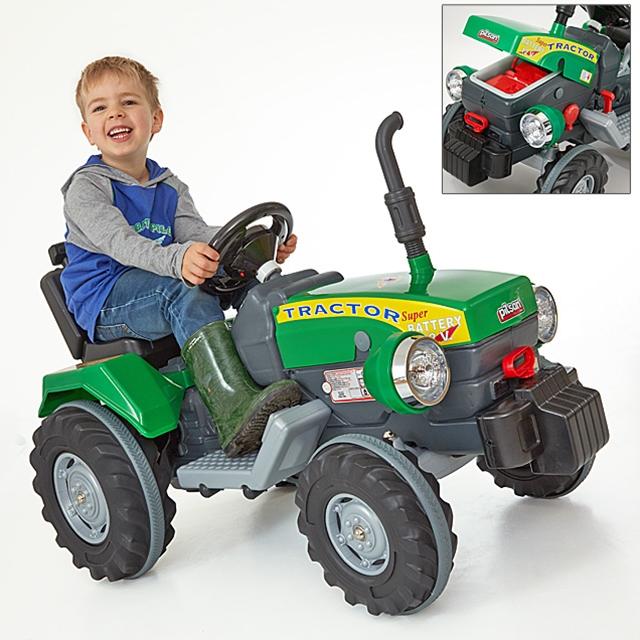 Kinder Traktor mit Elektroantrieb 12 V