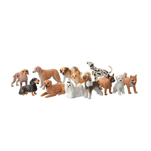 Tierfiguren Hunde 12tlg.