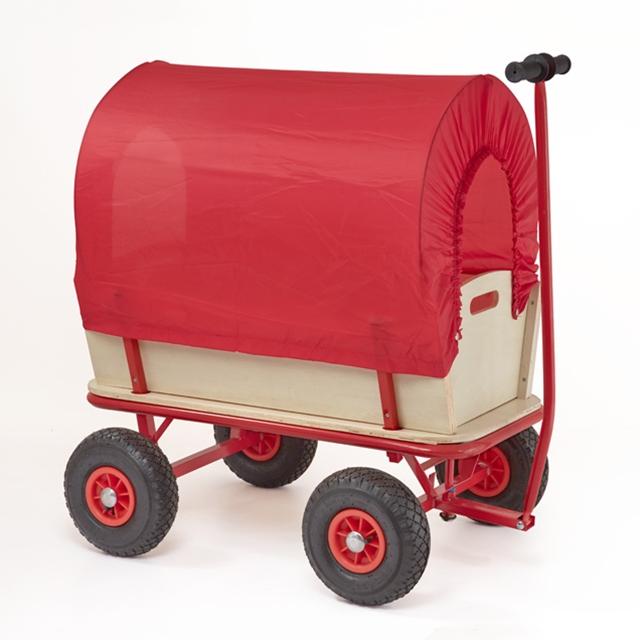 Bollerwagen mit Planwagendach
