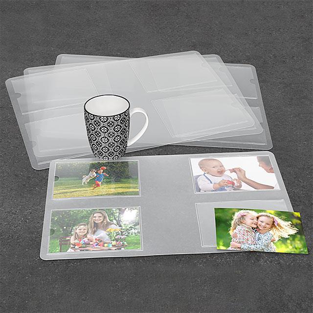 Tischsets Fotogalerie 4 Stk.