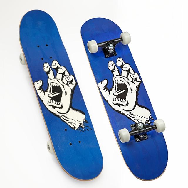Skateboard Monster Hand