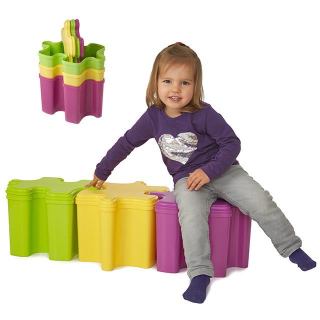 Kinderstuhl Puzzlebox 3 Stk.