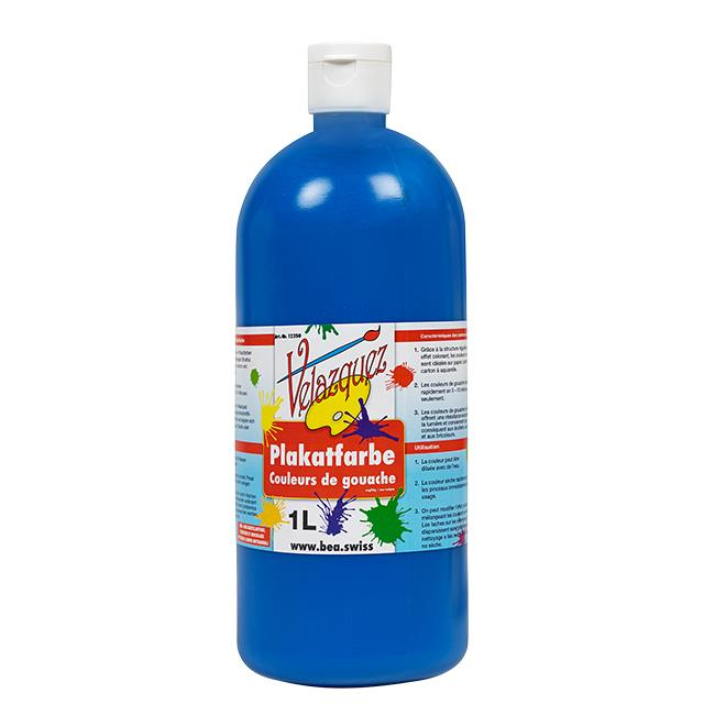 Plakatfarbe blau 1 Liter