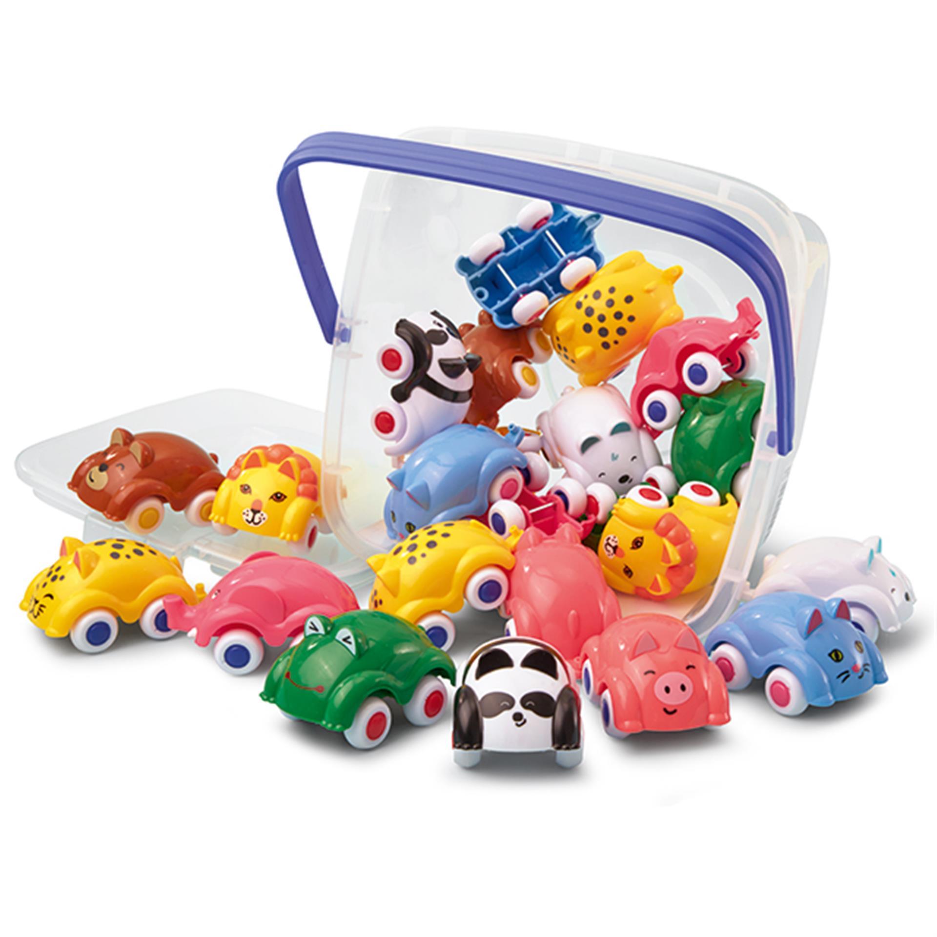 Spielzeug Autos in Tierformen Viking Toys 18tlg.