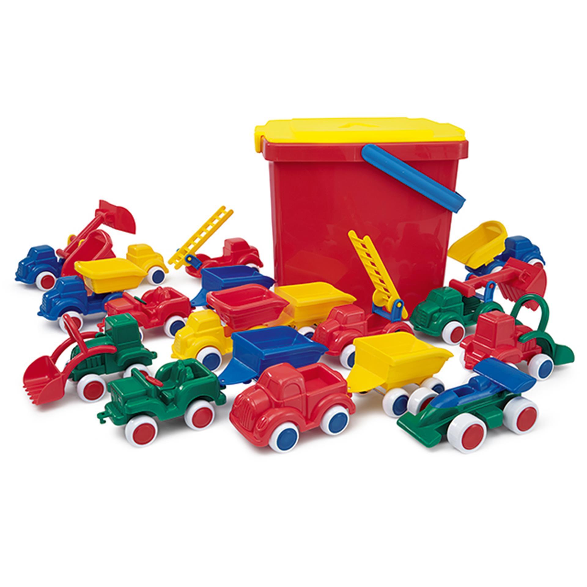 Mini Spiel Fahrzeuge Viking Toys 18tlg.