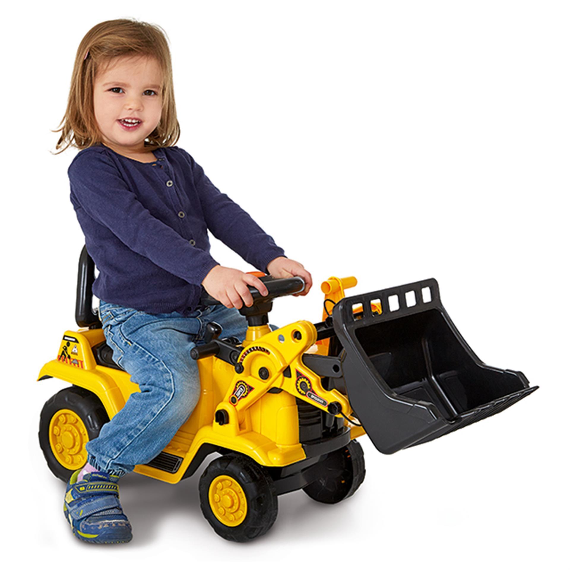 Sitz-Baustellenfahrzeug 3in1