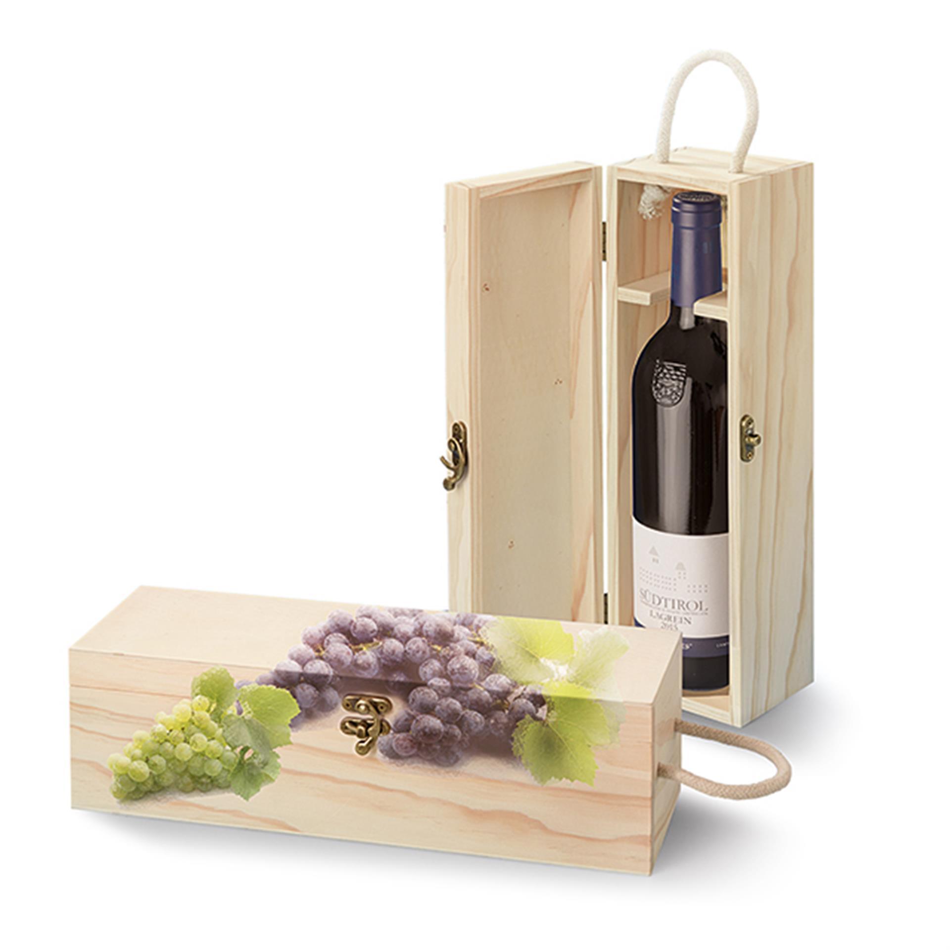 Holz Weinbox zum Bemalen 2 Stk.