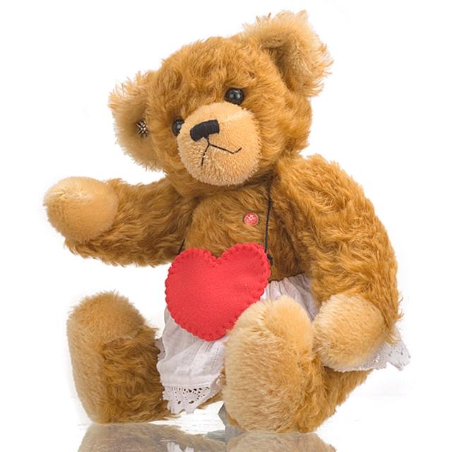 Mutzli Sammlerbär Mama Brummli mit Herz 35cm