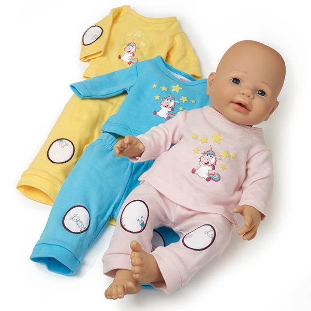 Puppen Sweater Kombi Set 6tlg. BL