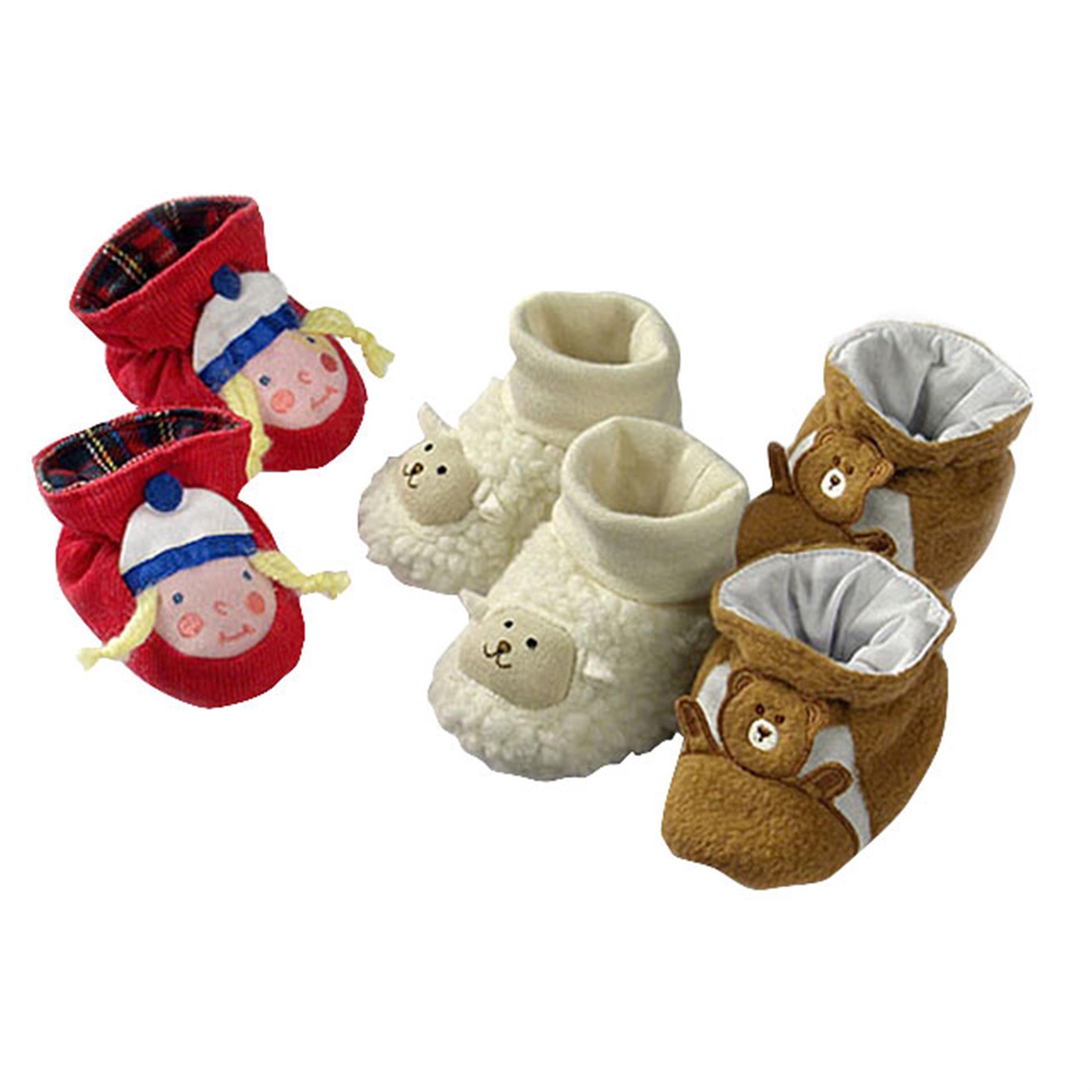 Puppen Finkli Krabbelspass 3 Paar BL