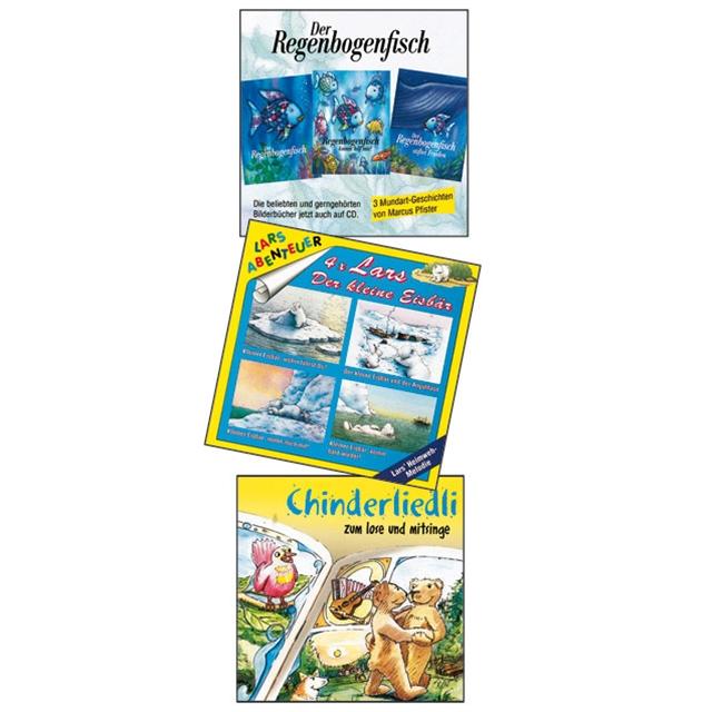 Kindergeschichten Superset 3 CD's