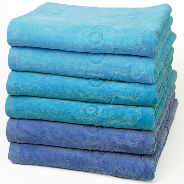 Frottee Handtücher Ocean Blue 6tlg.