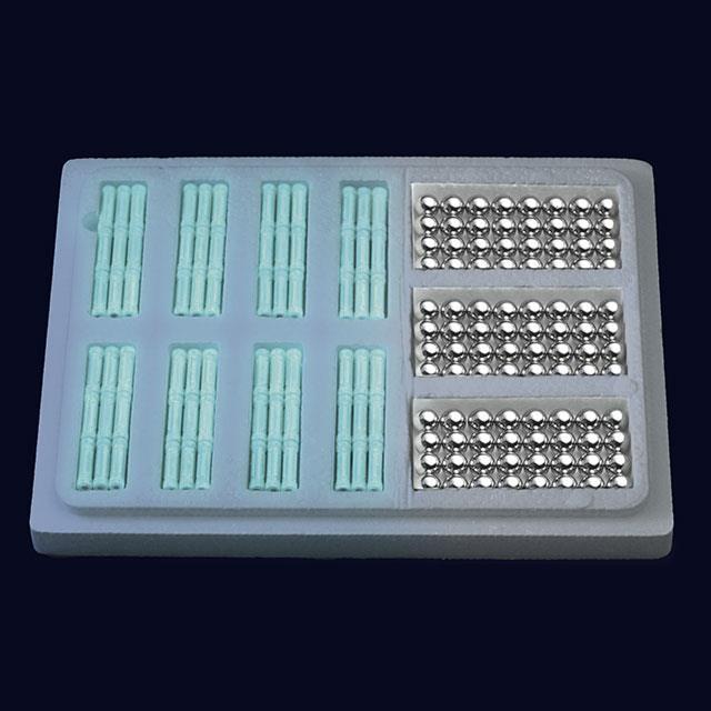 Magnetspielzeug Fluoreszenz Magnete 240tlg.